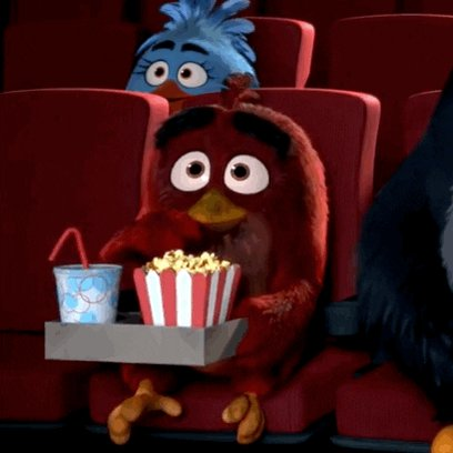 popcorn GIF by Angry Birds