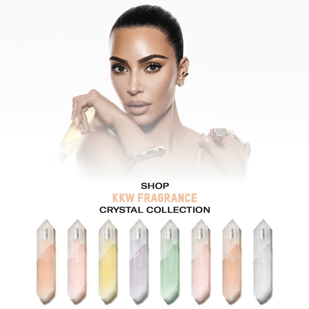 Replying to @KKWMAFIA: Shop @KKWFRAGRANCE Crystal Collection now only at