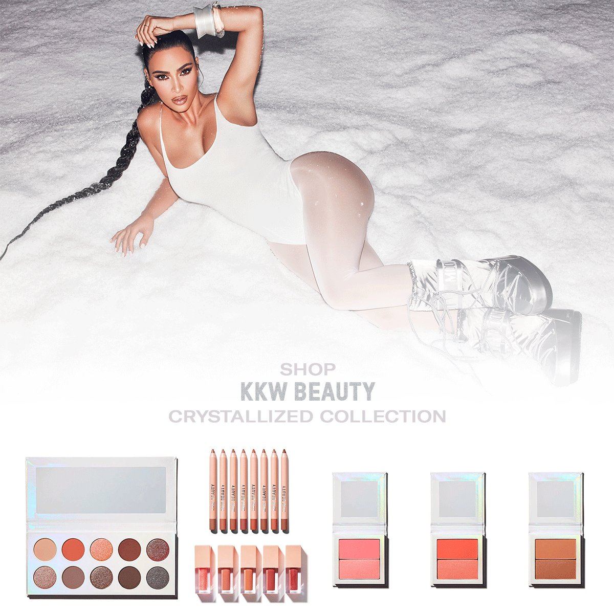 Replying to @KKWMAFIA: Shop @KKWBEAUTY Crystallized Collection now only at