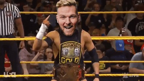 That was absolutely definitely not I on #WWENXT... w/ that being said, big thanks to whatever freak athlete went out there & did the right thing by knockin ol' cauliflower off that ladder  🗣🗣 THAT A BOY @PeteDunneYxB, we're basically GUARANTEED to win WARGAMES now