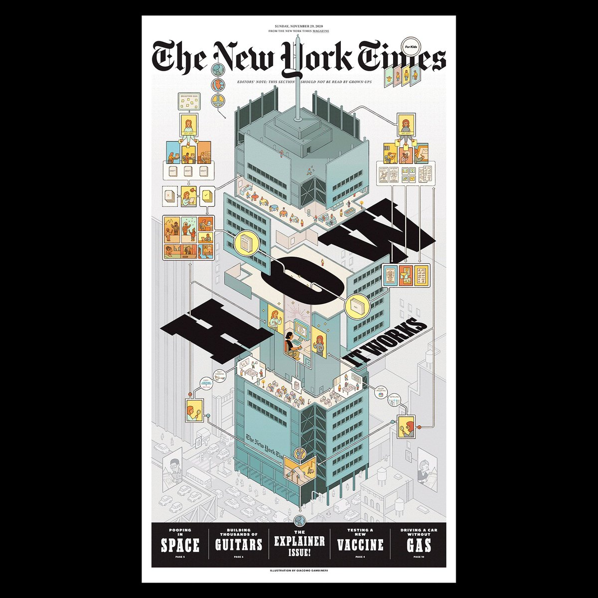 In your @nytimes this Sunday 11/29, a very special How-It-Works issue of The New York Times for Kids! https://t.co/sK3y7hpQXn