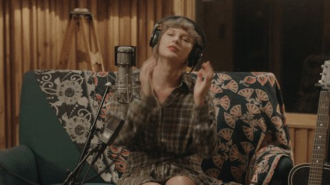 @taylornation13 @disneyplus @taylornation13  Me when I rewatch or listen to folklore: the long pond studio sessions on @disneyplus or @spotify😂 @taylorswift13 Thank you for making quarantine 1300x better once AGAIN! #folkloreOnDisneyPlus #FolkloreWatchParty #folklore #taylorswift