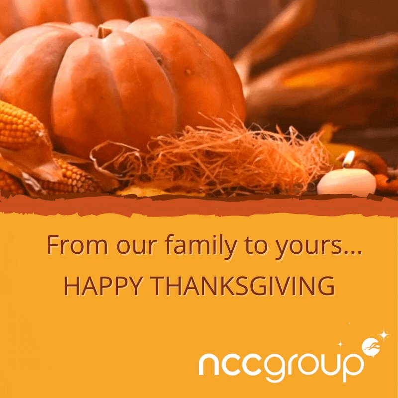 Sending warm wishes for a joyful holiday.  #HappyThanksgiving https://t.co/AWewMp9crL