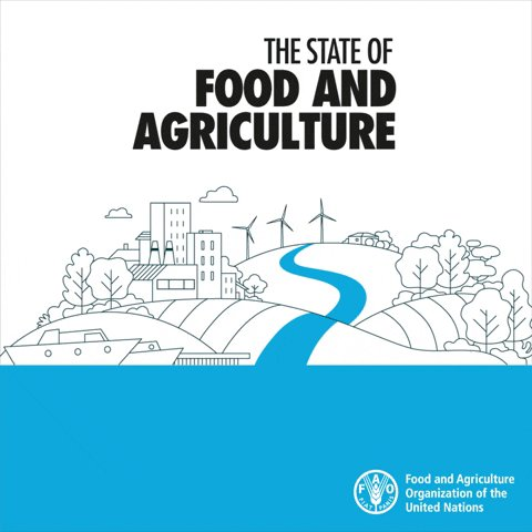 🌏 Our very existence depends on water.  💧 Yet, freshwater is becoming increasingly scarce.  🌱 How can we overcome water challenges in agriculture?  📕 Check out 'The State of Food and Agriculture 2020' report to find out 👉  #SOFA2020