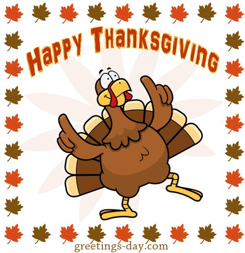 Image for the Tweet beginning: Wishing everybody a blessed Thanksgiving!