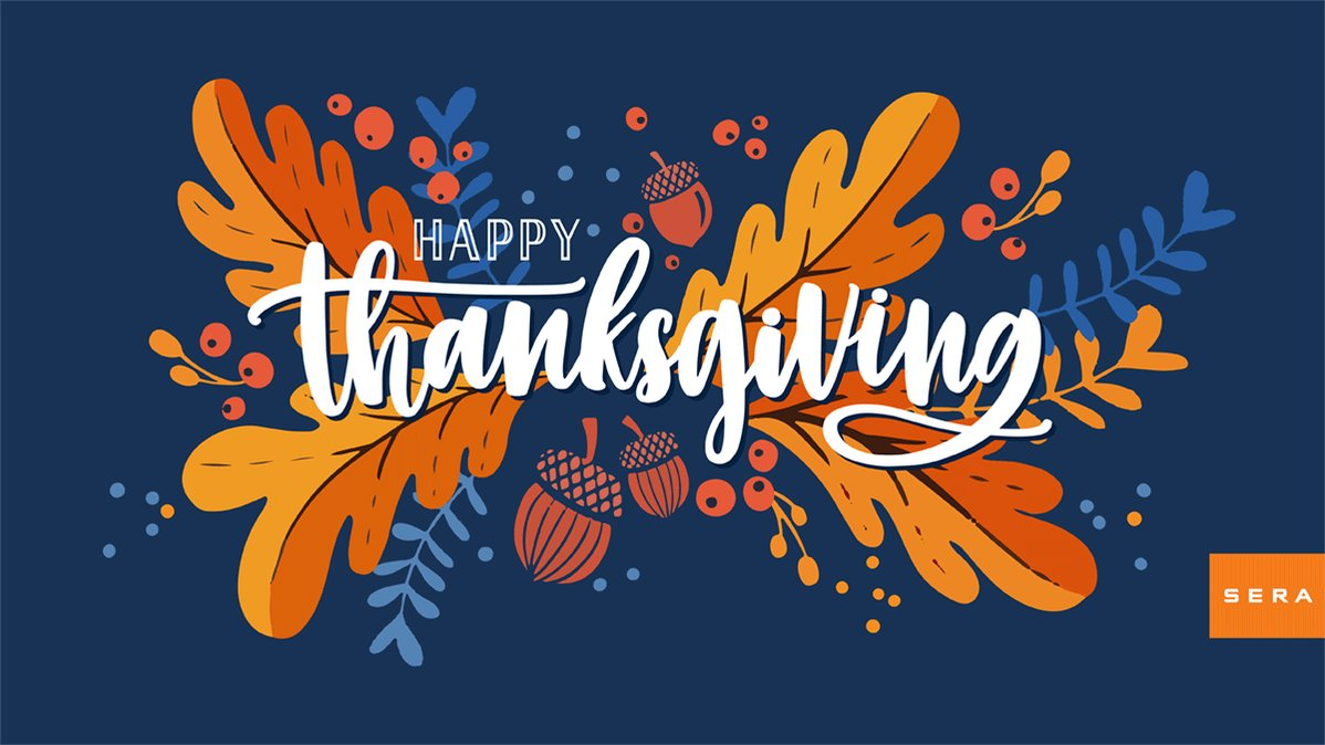 Image for the Tweet beginning: #HappyThanksgiving from all of us