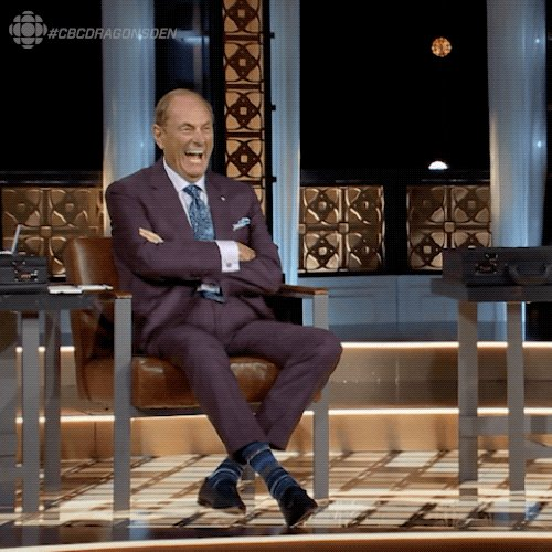 If anything, @JTreliving would be rocking a Speed-dough! $$$ #cbcdragonsden