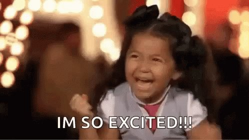 My reaction when I get my book allocation through from @booksfortopics. CANNOT WAIT! 😆