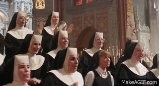 Love me some Sister Act!!! The first and the second one. #classics