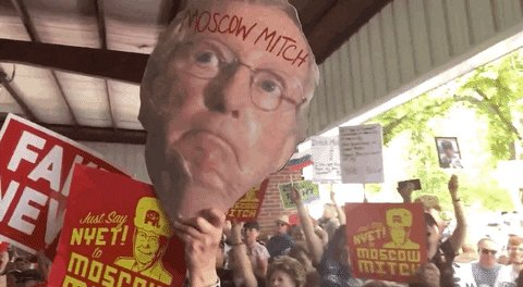 Mitch Mcconnell GIF by GIPHY News