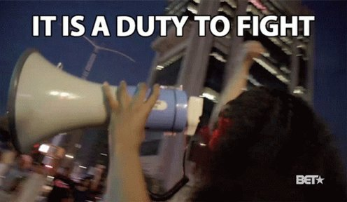 It Is ADuty To Fight For Ou...