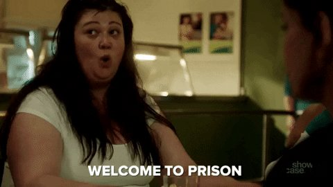 joan ferguson prison GIF by...