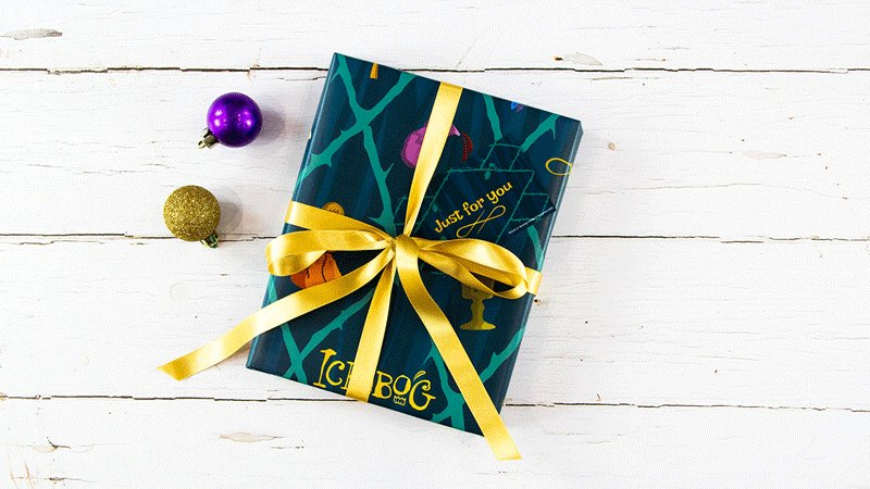 Step into an original fairy tale by J.K. Rowling this Christmas, with the perfect gift for the whole family to share.  You can now download and print Ickabog-themed wrapping paper and gift tags for free at    #TheIckabog