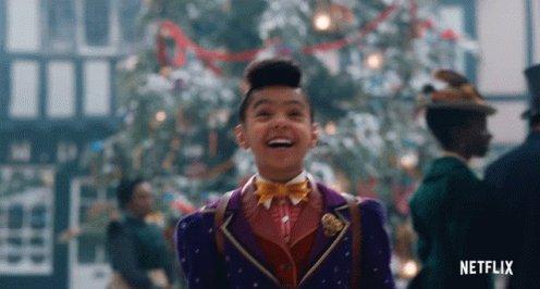 Jingle Jangle! Joys of the season! I am so excited to watch the #JingleJangleMovie