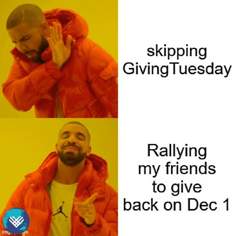 Less than 24 hours to go!!! Are you ready? 🤔  #GivingTuesdayCA  #GivingTuesday #GivingTuesday2020 #MardiJeDonneCA @Drake