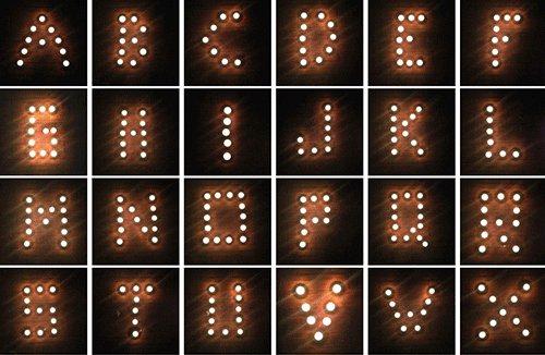 lights alphabet GIF