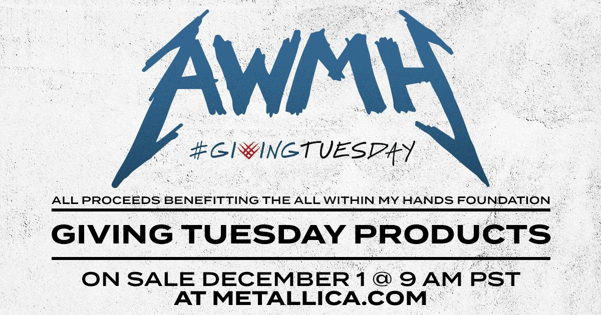 This year's #GivingTuesday items include limited-edition foil variant posters by artists Dirty Donny, @WolfSkullJack & @Munk_One or an #AWMH face mask. Posters go on sale at 9AM PST and will sell out fast! Visit  to shop or  to give.