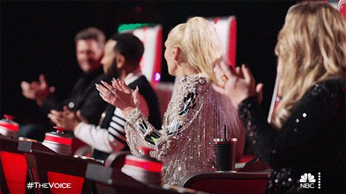 #TheVoice #VoiceKnockouts  I don't know about you guys but I am surprised that I am not missing Live Audience as much as I thought that I was going to this season!  #TeamBlake @blakeshelton #TeamLegend @johnlegend #TeamKelly @kellyclarkson #TeamGwen @gwenstefani