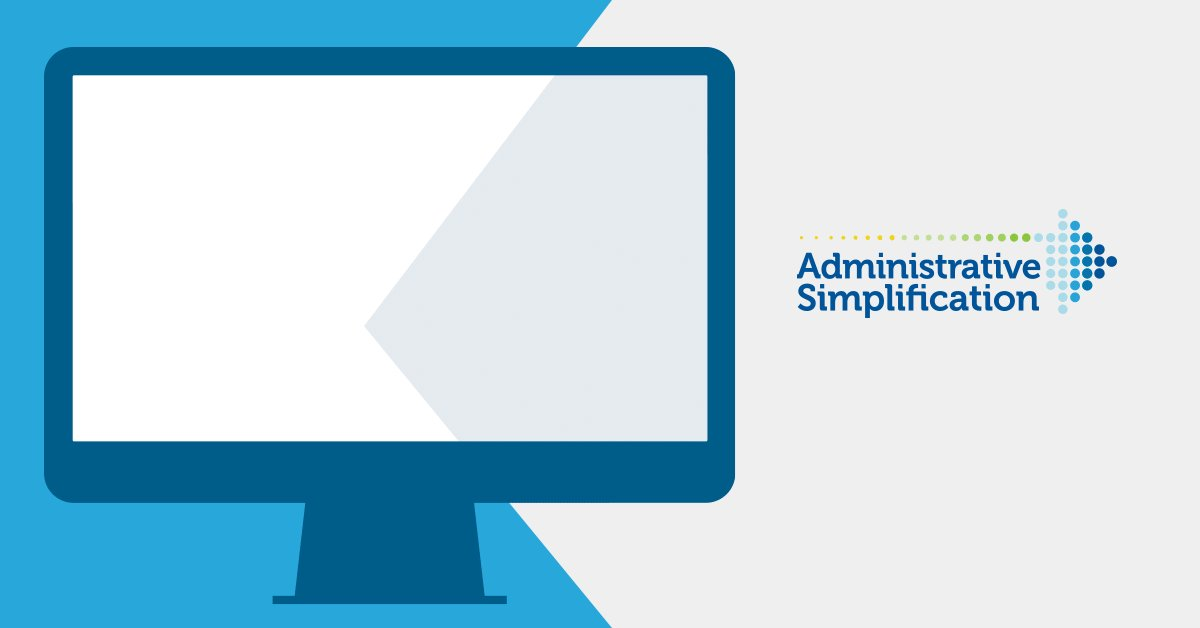 Using #HIPAA Administrative Simplification standards allows the health care community to reduce paperwork and spend more time with patients. Visit the #AdminSimp homepage to learn more: