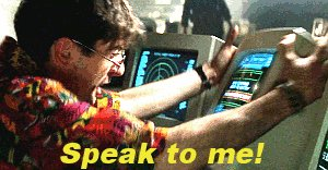 internet speak to me GIF
