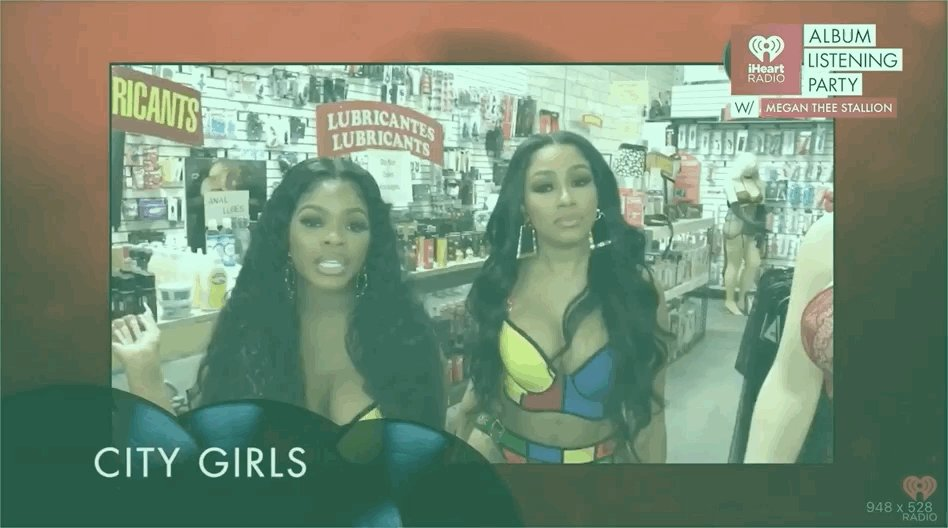 Replying to @106KMEL: .@citygirls with a special message for @theestallion!  #iHeartMeganTheeStallion
