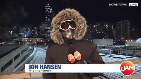 Chicago Winter #ColdABand