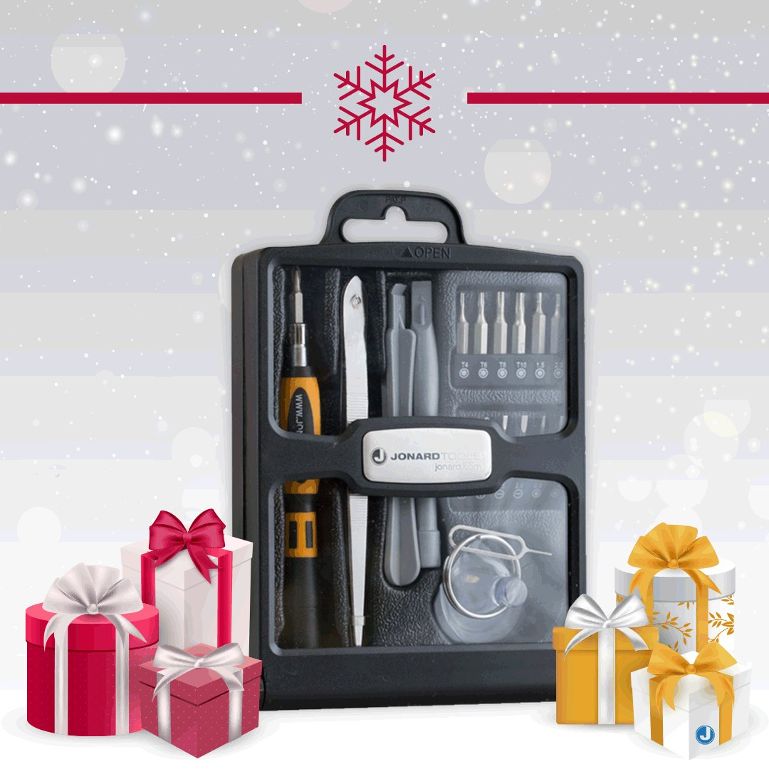 Inspiration for your holiday shopping 🎁  Our TK-19 Smartphone & Tablet Repair Tool Kit is perfect for all ages!  #JonardTools #Jonard #MadeForLife #WednesdayWisdom #WednesdayMotivation #WednesdayHumpDay #WednesdayWords #WednesdayGrind #DYI #HolidayShopping