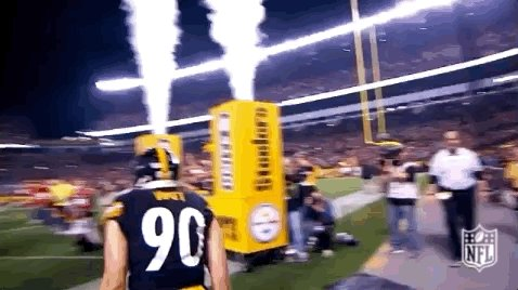 TJ WAS ALL OVER HIM! #SteelerNation #SteelersRavens #HereWeGo