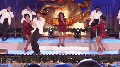 Replying to @GiphyPop: the cast members of @AintTooProud are EVERYTHING 👏👏👏 #RockCenterXMAS @nbc
