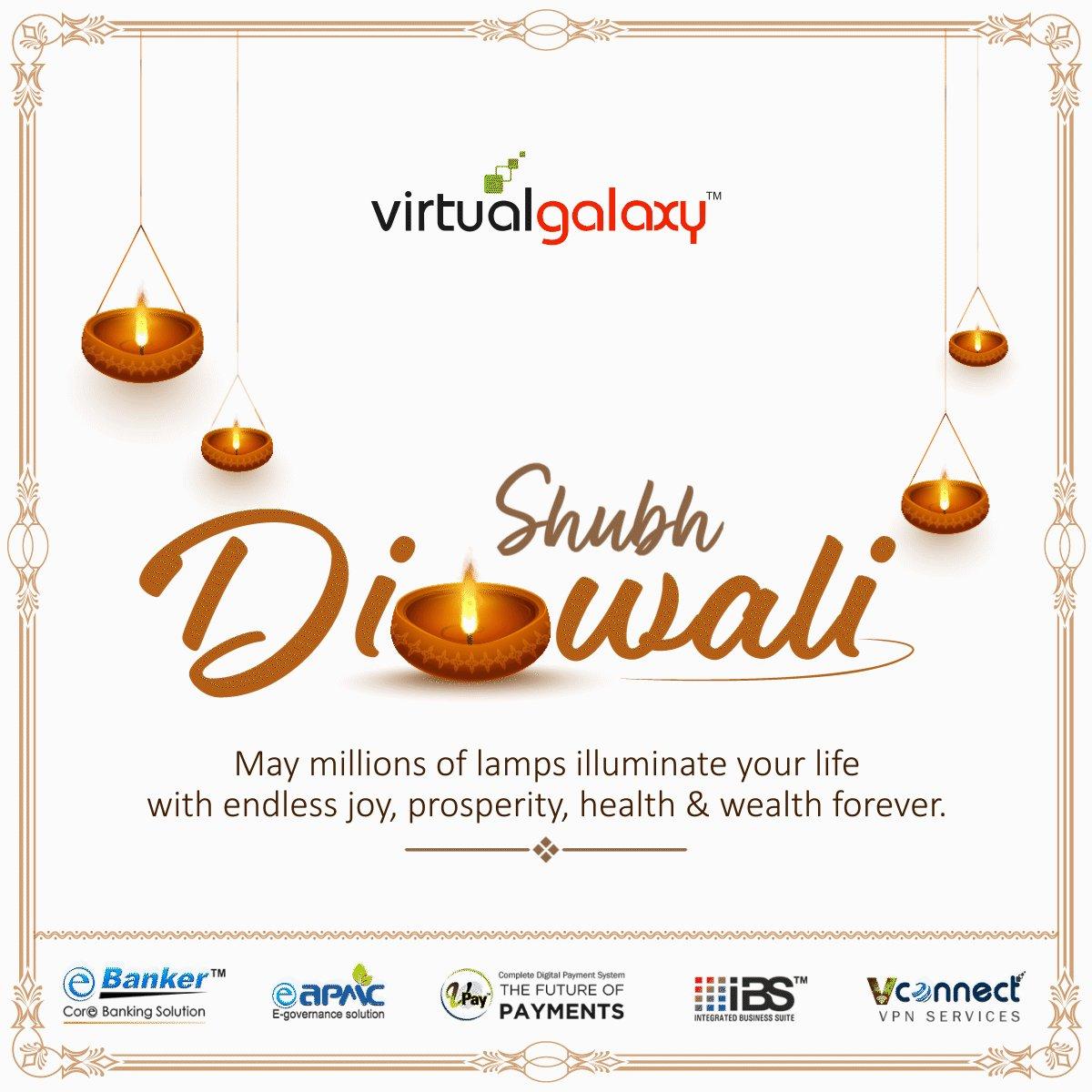 Let this Diwali burn all your bad times and enter you in good times. Happy Diwali!  #HappyDiwali#HappyDiwali2020#Diwali2020 #Diwali#Deepawali#deepavali2020 #indianfestival#greendiwali #vgipl #virtualgalaxy