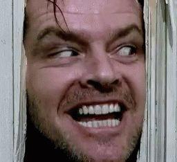 Jack Nicholson Madnesss GIF