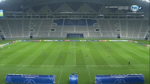 SECOND HALF BEGINS!   We are back underway at the Khalifa International Stadium where 🇰🇷 @bluewingsfc have a mountain to climb in order to qualify for the knockout phase as they look for a two-goal win against 🇯🇵 @visselkobe!   #ACL2020 #VKOvSUW