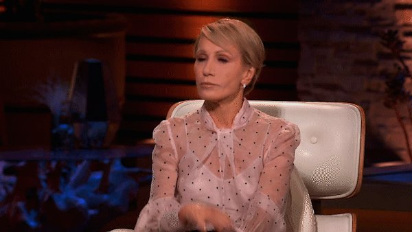 Replying to @ABCSharkTank: Put that work week behind you, it's #SharkTank Friday 💁♀️ RT if you're watching! @BarbaraCorcoran