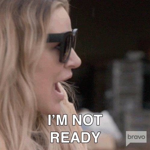 Im Not Ready Real Housewives Of Salt Lake City GIF