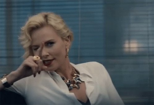 Lesbian Christmas rom coms are all well and good but what I REALLY want is a Die Hard where Charlize Theron goes on a rampage to save her wife