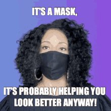 #IWearAMaskBecause my friend died from covid-19. If something as simple as wearing a mask can help prevent the spread, then why not.
