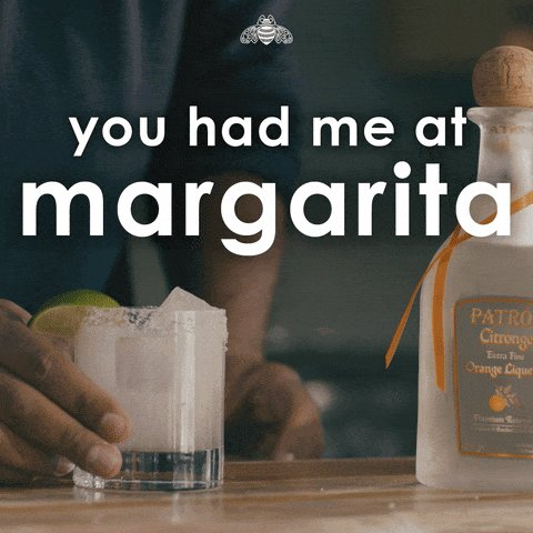 Yes, if you mean margaritas!#MexicanFoodIn5Words