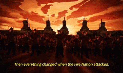 Fire Nation Avatar GIF