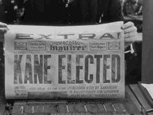 Citizen Kane Newspaper GIF