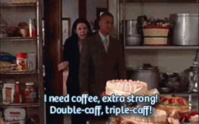 """""""You know, some people might say drinking coffee in the middle of the night hinders sleep""""  """"People..... are dumb"""" #GilmoreGirls #GilMOREtheMerrier #gilmoregirlsayearinthelife @UPtv"""