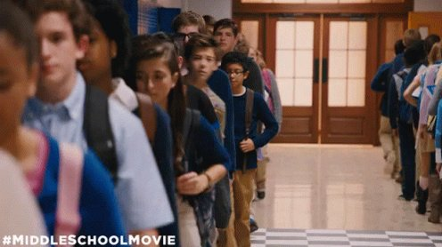 Standing In Line GIF