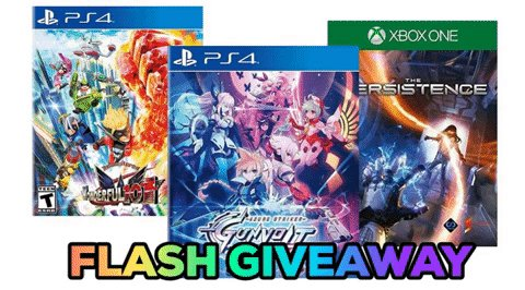 Flash Holiday Giveaway: Follow & Retweet for a Chance to Win a Physical Bundle That Includes The Persistence, The Wonderful 101 & Azure Striker Gunvolt by @NH_Interactive @platinumgames @PlayPersistence & @IntiCreatesEN. USA Only. Ends in 30 MINUTES.