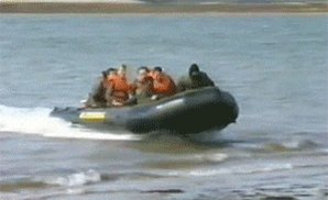 boat fail GIF