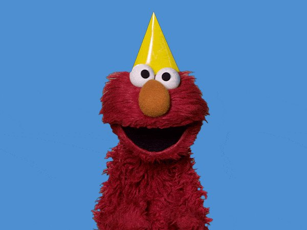 50Th Anniversary Happy Dance GIF by Sesame Street