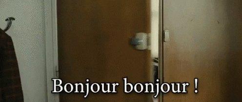 Bonjour GIF by memecandy