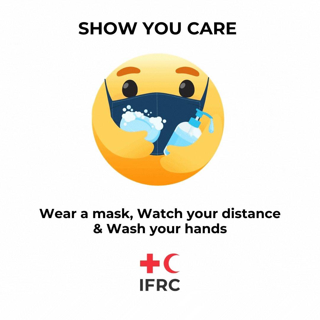 Show you care ❤️😷🧼