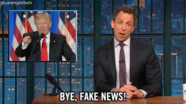 donald trump goodbye GIF by Late Night with Seth Meyers
