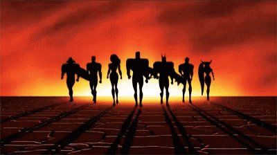 Justice League Superheroes GIF