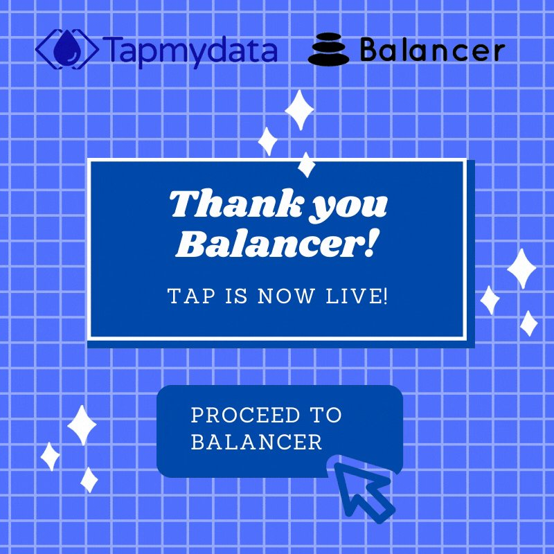Image for the Tweet beginning: Thank you 🙏 @BalancerLabs for
