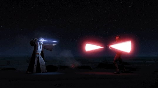 """STAR WARS: REBELS (2017)  Art Direction by Kilian Plunkett Directed by Dave Filoni From """"Twin Suns"""" Part of #SaturdayMorningCartoons Explore why Darth Maul was right: https://t.co/yPGW3TMeZr https://t.co/qG7TA0sW02"""